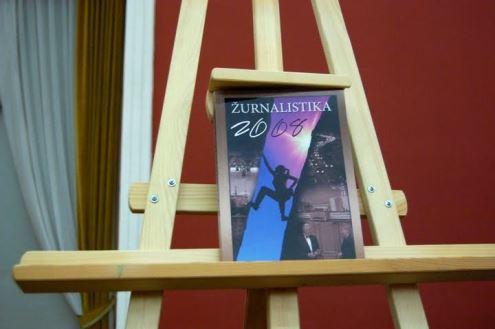 Almanacho autoriai tikisi, kad leidinys padės gerinti Lietuvos žiniasklaidą. Karolio Vyšniausko nuotrauka.