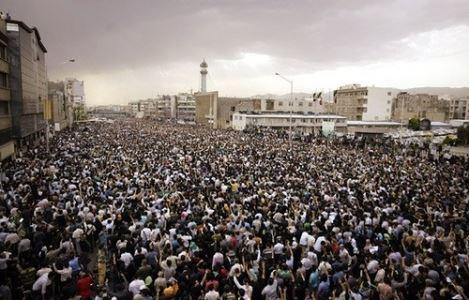 Faramarz nuotraukoje – protesto demonstracijos Irane