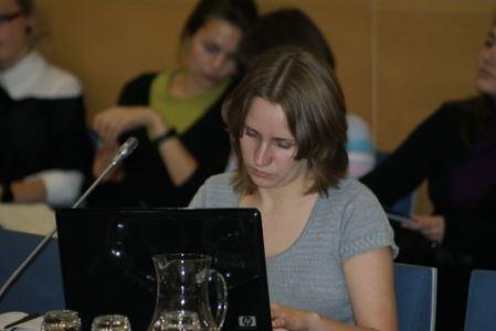 Deimantė Dokšaitė teigia, kad išeivijos žiniasklaidai reikia ne paprastos finansinės pagalbos. V. Eivos nuotr.