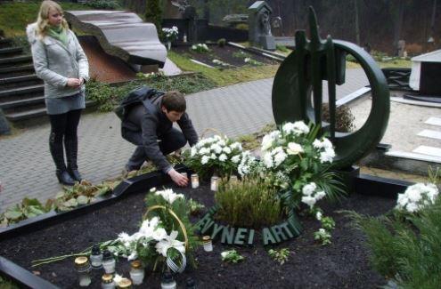 Studentai pagerbė Vytauto Gedgaudo atminimą