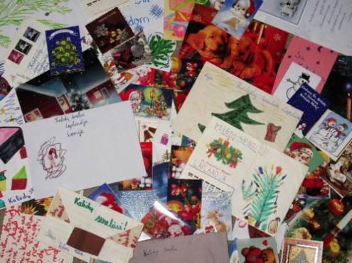 Nuo 4 iki 11 tūkstančių vaikų kasmet išsiunčia laiškus Kalėdų seneliui. Autorės nuotr.