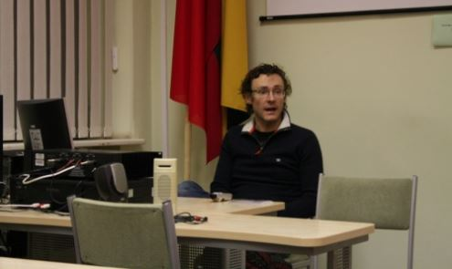 """Audrius Lelkaitis pristato """"Vilniaus getą 2009"""""""