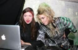 Vakarėlio iniciatorės - Migloko ir Elle Driver. Organizatorių archyvo nuotr.