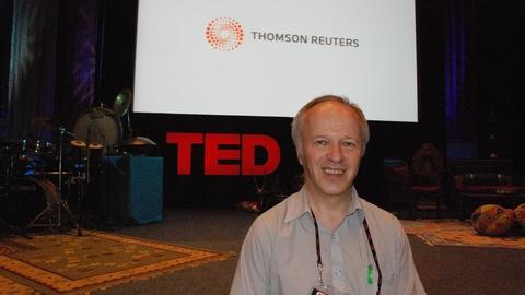 V.Lašas – vienas iš 32 TED globėjų pasaulyje. Nuotrauka autoriaus. Iš asmeninio archyvo.