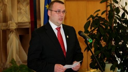 Kęstučiui Bartkevičiui įteikta Valstybės Nepriklausomybės stipendija. Autoriaus nuotr.