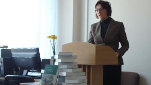 Recenzistė Rita Repšienė. Nuotrauka autorės.