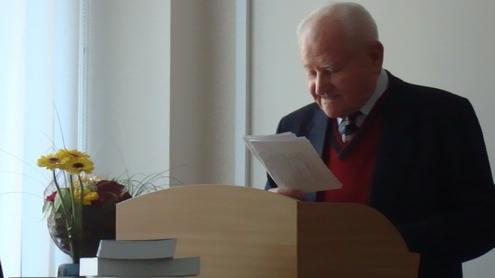 Prof. Vladas Žukas. Nuotrauka autorės.