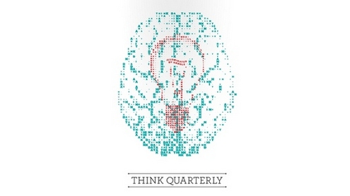"""Think Quarter"" žurnalo viršelis."