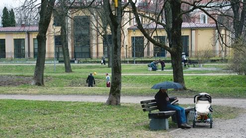 Parkas nepamirštas. Autoriaus nuotr.