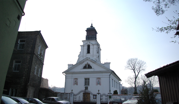 Vilniaus Šv. Baltramiejaus bažnyčioje varpais skambina patarnautojas Autoriaus nuotr.