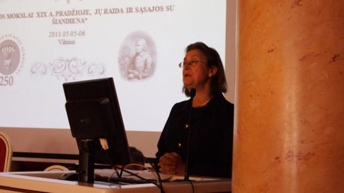 Švedijos ambasadorė Ulrika Cronenberg-Mossberg sakė sveikinimo kalbą. Autorės nuotr.