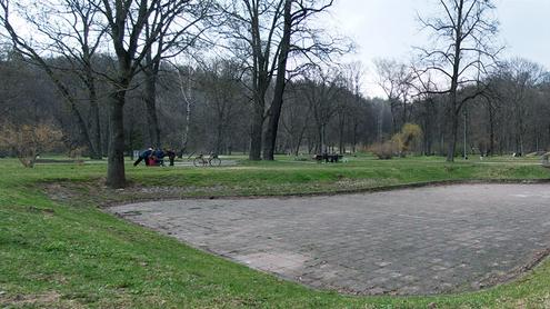 Parko tvenkiniai šiandien. Autoriaus nuotr.