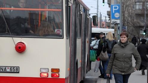 Viešasis transportas Vilniuje reformuojamas jau septintus metus. Giedrės Trapikaitės nuotr.
