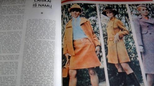 """""""Tarybinės moters"""" puslapiai (1970 m.)"""