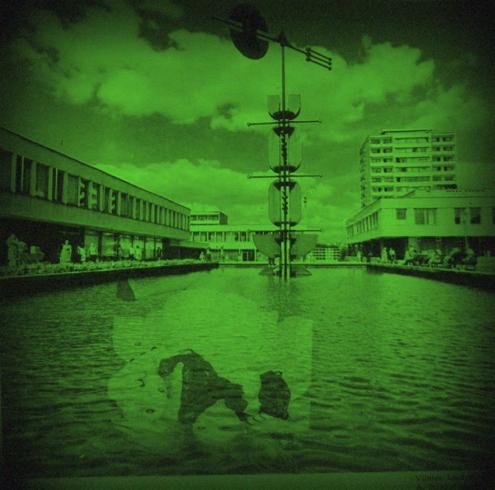 "Lazdynietė vandens nimfa (autoriaus fotomontažas, įkvėptas Tarkovskio ""Soliario"")"
