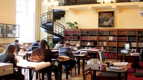 Jauki Tado Vrublevskio skaitykla Vrublevskių bibliotekoje. Giedrės Trapikaitės nuotr.