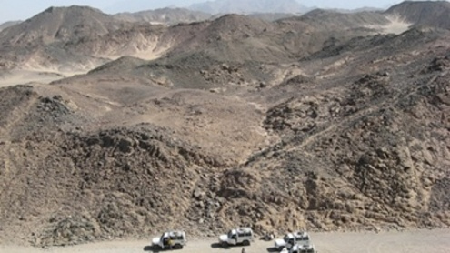 Oaze turistams tapęs Egiptas, dabar virto kovos lauku. Evaldo Slapšio nuotr.