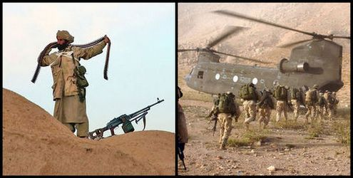 Talibanas prieš JAV kariuomenę. J. Bivera (U.S. Navy - JAV laivynas) nuotr.