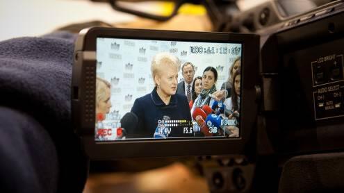 Dalia Grybauskaitė – pirmoji ne inžinierinį išsilavinimą turinti Lietuvos prezidentė. Vladimiro Ivanovo nuotr.