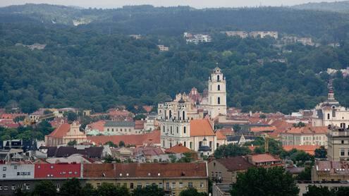 Platono teigimu, idealus miestas yra žvilgsniu aprėpiamas nuo kalvos. Juditos Grigelytės nuotr.