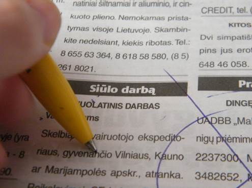 Jaunimo nedarbas Lietuvoje yra kiekvienos valdžios linksniuojama problema, tačiau ar tik valdžia gali duoti darbo? Aut. Izabelė Pukėnaitė