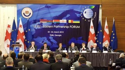 Pirmasis ES Rytų partnerystės ekonomikos forumas Gruzijoje. A. Woźniak  nuotr.