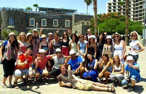 Žydų jaunimas Izraelyje (nuotr. iš asmeninio pašnekovės albumo)