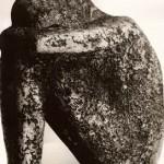 Tamara Janova. Badas (šamotas; 1989 m.; aukštis – 45 cm.; Žydų muziejus) T. Janovos nuotr.