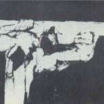 Rudolfas Baranikas. Juodoji tyla (fotopaveikslas) Nuotr. iš ŠMC parodos katologo