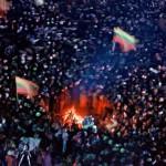 Baltijos laužų kelias. 1990 m. rugpjūčio 23 d.