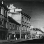Vokiečių gatvė 1874-aisiais. Lietuvos centrinio valstybės archyvo (LCVA) nuotr.