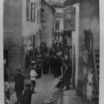 Vaizdas į Žydų gatvę iš mėsos turgaus. LCVA nuotr.