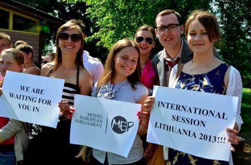 Vilniuje Europos jaunimas svarstys aktualius politikos klausimus. Nuotr. iš asmeninio R.Burinskaitės archyvo