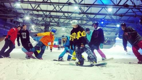 Pasipraktikavę Druskininkų sniego arenoje, jau šią žiemą snieglentininkai keliaus į Austrijos kalnus. I. Boiko nuotrauka.