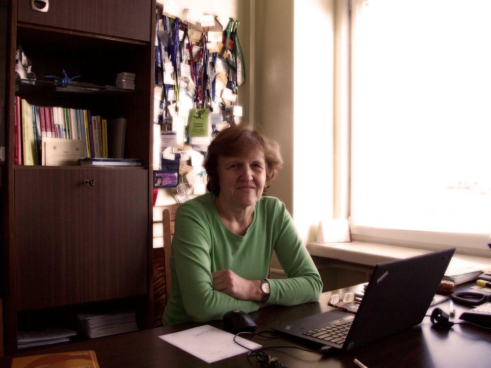 Profesorė Valentina Dagienė. Autorės nuotr.