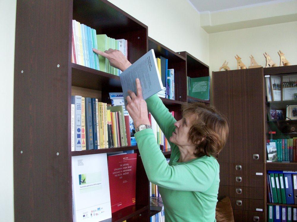 Susitikimas su profesore Valentina Dagiene. Autorės nuotr.