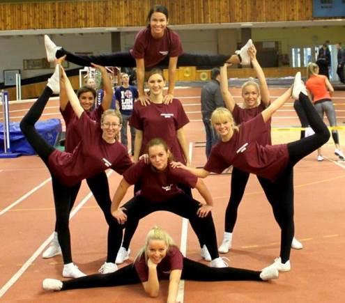 VU aerobinės gimnastikos rinktinė rengiasi naujoms varžyboms. Nuotrauka iš autorės archyvo