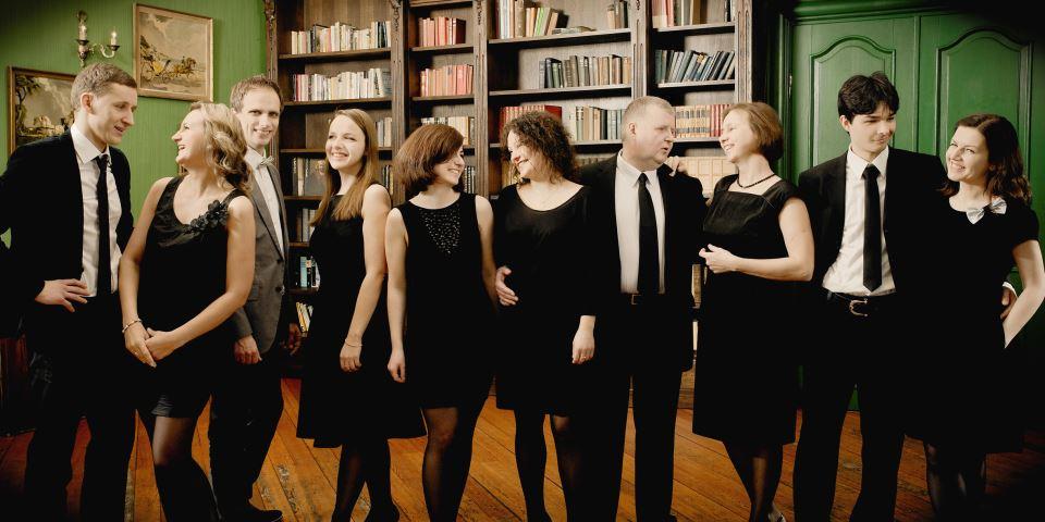 Vilniaus mokytojų namų choras. Nuotrauka iš Bel Canto archyvo