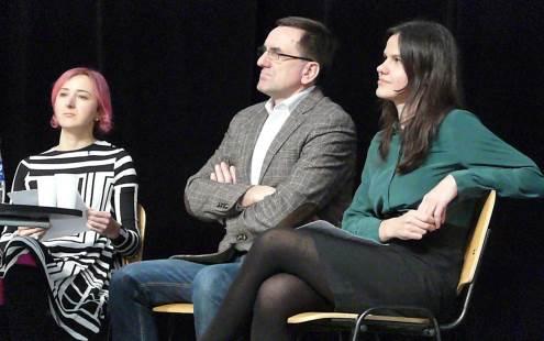 Paulina Pukytė, Lauras Bielinis, Rita Valiukonytė. Gedimino Zemlicko nuotrauka