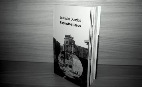 Naujoji L. Donskio knyga pristatyta Vilniaus knygų mugėje. Autorės nuotr.