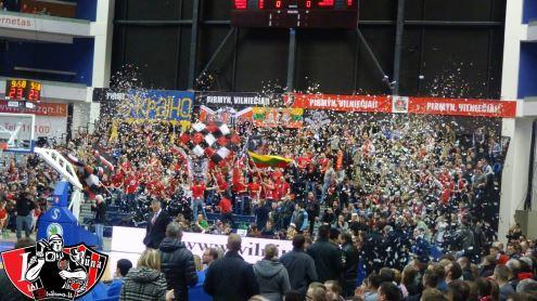 """Europos taurės atsakomosios aštuntfinalio rungtynės žiūrovų gausa prilygo legendinių """"Lietuvos ryto"""" ir """"Žalgirio"""" rungtynėms. M. Žvikevičiaus nuotr."""