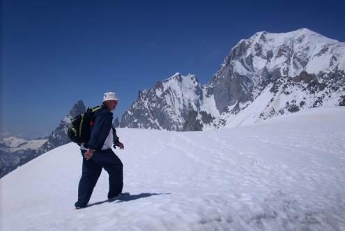 Jonas Kalinauskas interviu metu neslėpė savo aistros kelionėms. Asmeninio archyvo nuotr.