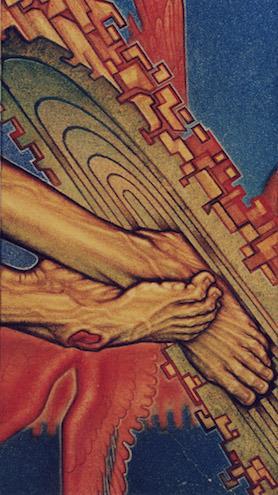 Šv. Pranciškaus tema G. Umbraso darbuose – ypač ryški. Iš G. Umbraso asmeninio archyvo.