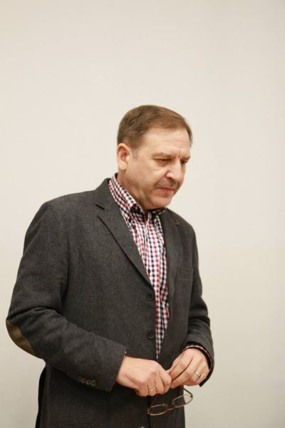 Vilniaus universiteto profesorius Albinas Kuncevičius. Dariaus Vesecko nuotr.