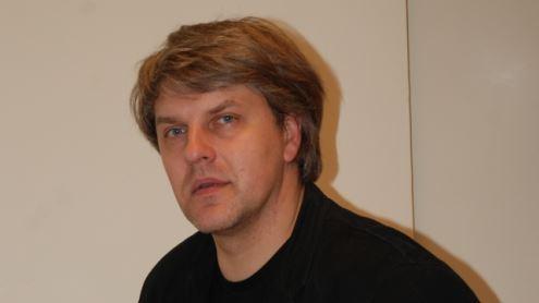 Vilniaus universiteto Komunikacijos fakulteto docentas, kulinarinio paveldo tyrinėtojas Rimvydas Laužikas. Šaltinis VU KF Integruotas informacijos centras