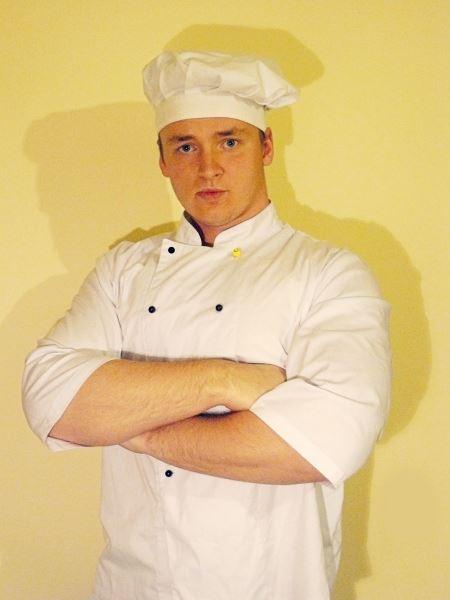 Nors mokosi nemokamai, T. Versockas už kulinarijos studijas sutiktų ir šiek tiek sumokėti. Autorės nuotr.