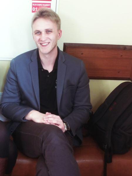 Filosofijos fakulteto psichologijos studentas Paulius