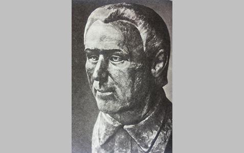 """Dokumentinis K. Donelaičio portretas, atkurtas habil. dr. Vytauto Urbanavičiaus. (nuotr. iš knygelės ,,Kristijono Donelaičio palaikų tyrinėjimo medžiaga"""")"""