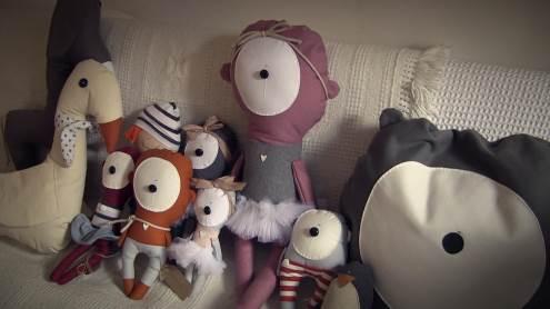 """""""Žaislų turguje"""" gyvenantys meškinai. Augusto Stankevičiaus nuotrauka."""