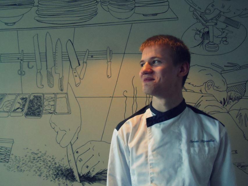 Ignučiui Klimavičiui visados patiko gaminti, bet šį sprendimą jis priėmė vienuoliktoje klasėje. Kamilės Matusevičiūtės nuotrauka